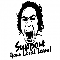Support your local team, T-Shirt