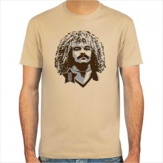 Carlos Valderrama, T-shirt