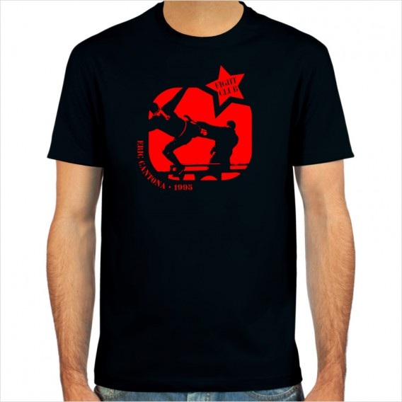 Eric Cantona Kung Fu T Shirt From Spielraum