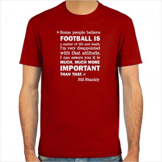 Bill Shankly, T-Shirt