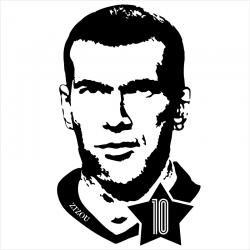 Zinedine Zidane, T-shirt