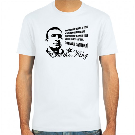Eric Cantona, the King, T-Shirt