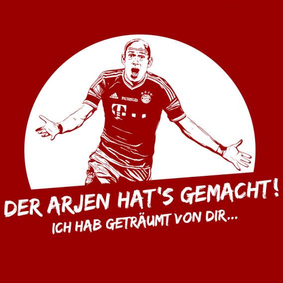 Arjen Robben, T-shirt