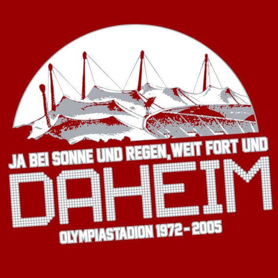 Olympic Stadium Munich, T-shirt