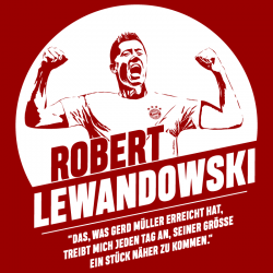Robert Lewandowski, T-shirt