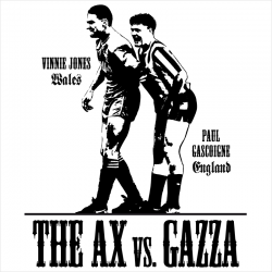 Paul Gascoigne vs. Vinnie Jones, T-Shirt